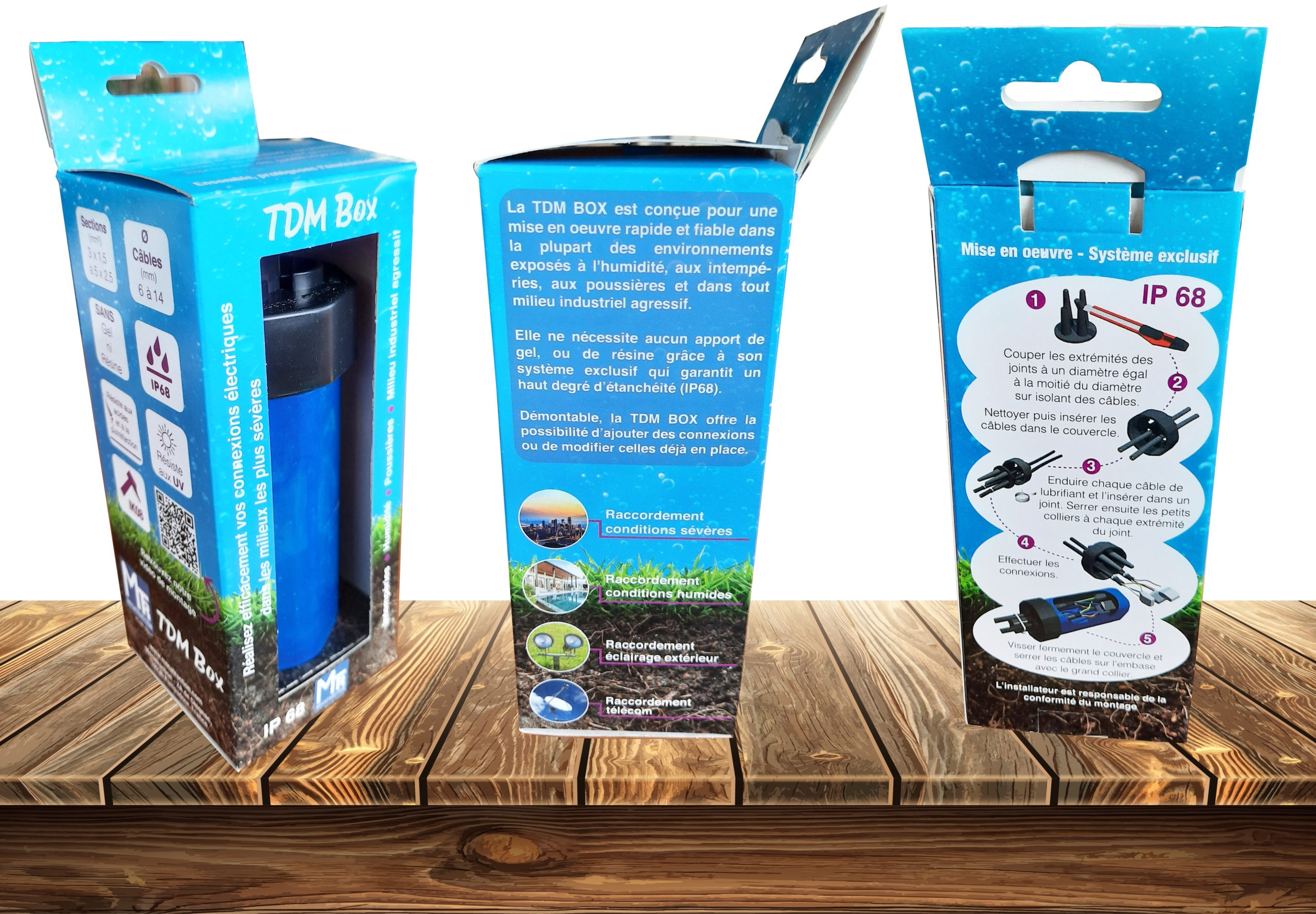 Packaging TDM box