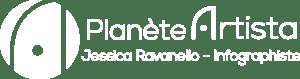 logo Planète Artista 2020 Blanc